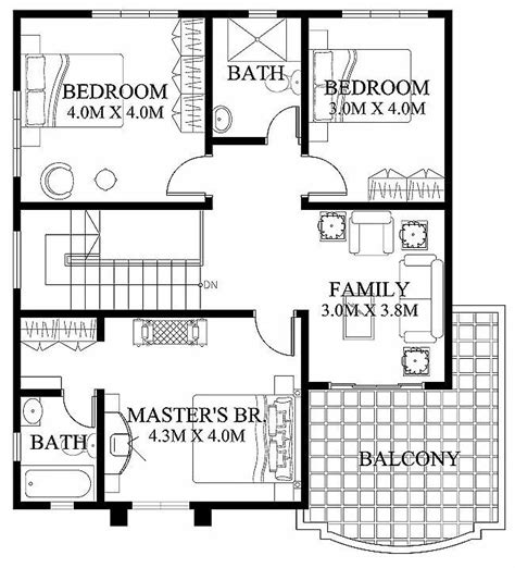 2nd floor plan design 35 best philippine houses images on house
