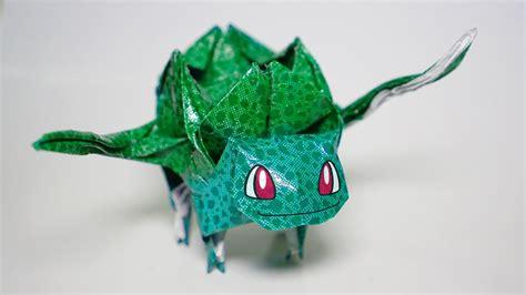 how to make origami bulbasaur origami bulbasaur tutorial diy henry phạm
