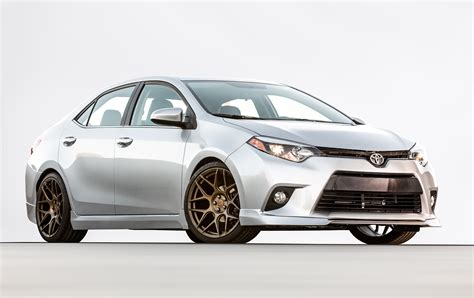 Toyota Corolla by Toyota Shows Trd Corolla Trd Camry Potential At Sema