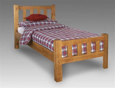 single wooden bed frame limelight astro 3ft single pine wooden bed frame by