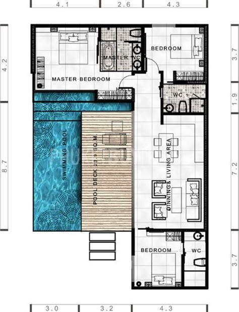 villa plan lay4524 tropical modern villa with 3 bedrooms phuket