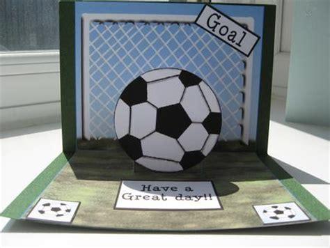 how to make a football card football pop up cup82556 63 craftsuprint