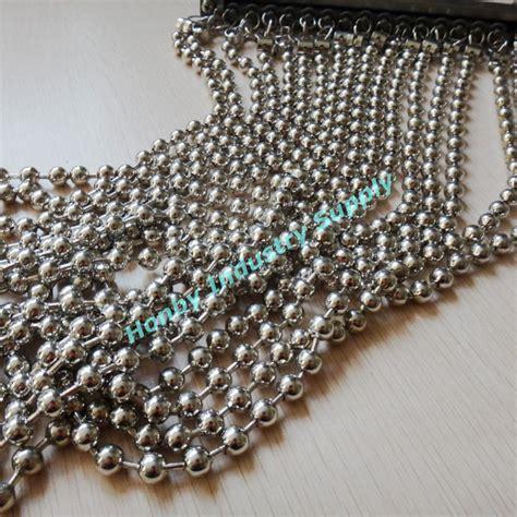 bead window customized silver metal bead window blinds curtain buy