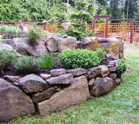 garden bed rocks 25 best ideas about river rock gardens on