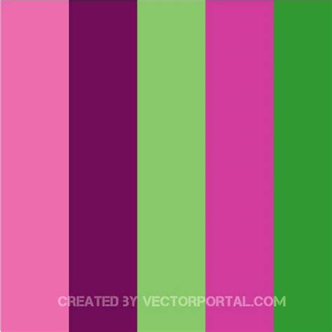 green swatches purple and green swatches at vectorportal