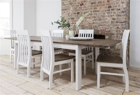 white kitchen tables and chairs sets dining table and chairs dining set pine white with