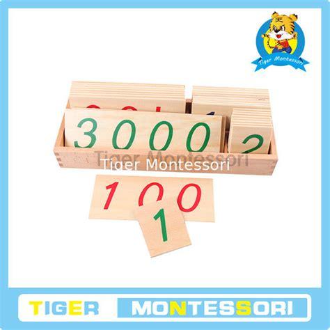 montessori math montessori math materials wooden toys large wooden number