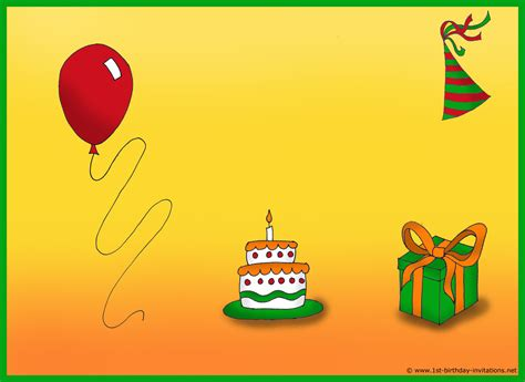 make free cards with photos how to create birthday invitations and cards 1st