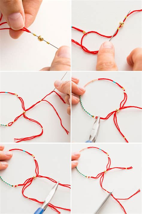 step by step how to make american beaded earrings 2 modern takes on diy beaded bracelets brit co