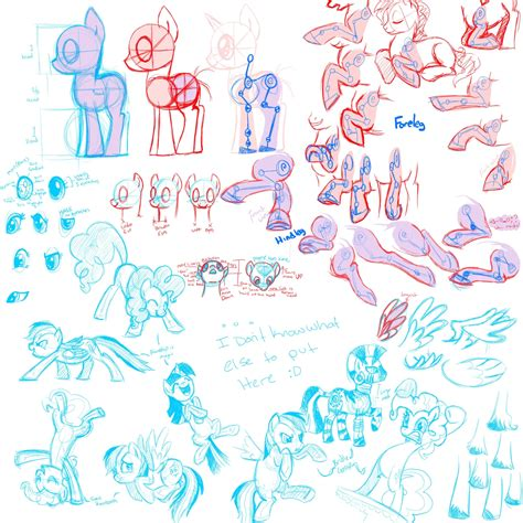 how to draw guide equestria daily mlp stuff pony drawing guides lots of