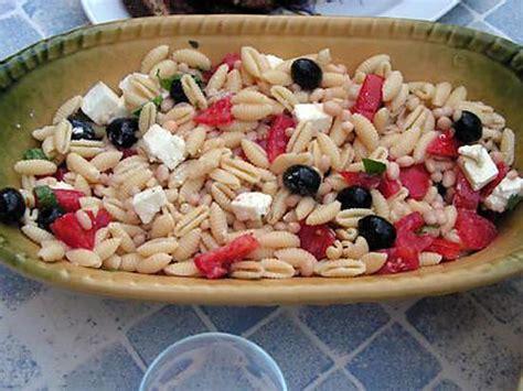 recette de salade de p 226 te 224 la grecque