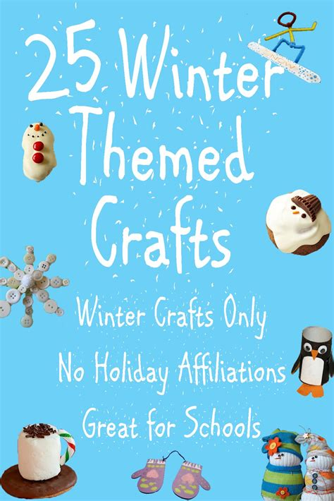 winter themed crafts for me genes 25 winter themed crafts