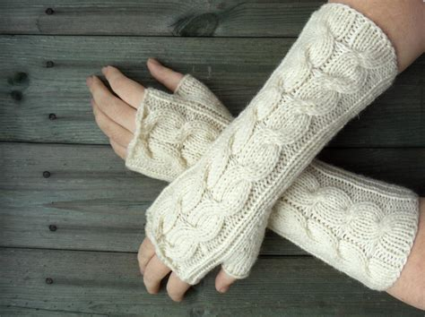 knitted gloves free knit fingerless glove pattern k k club 2017