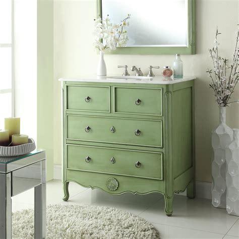 vintage bathroom vanity adelina 34 inch vintage bathroom vanity vintage mint green