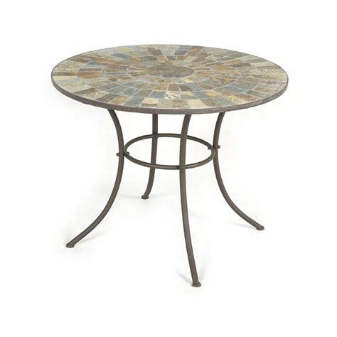 mosaic patio tables ellister mosaic patio table 80cm on sale fast