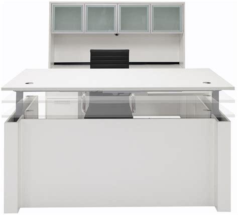 white u shaped desk adjustable height u shaped executive office desk w hutch