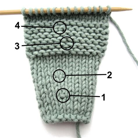 knit into front of stitch pin by ross on crafts