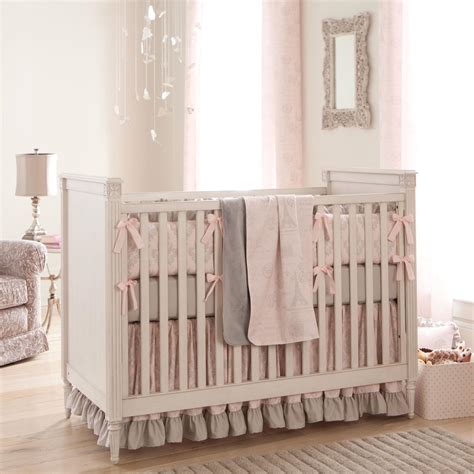 baby crib bedding for script crib bedding pink and gray baby crib