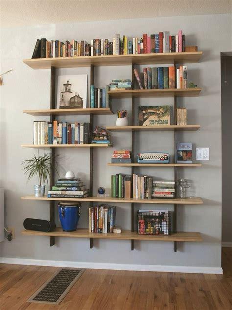 pictures of book shelves best 25 floating bookshelves ideas on
