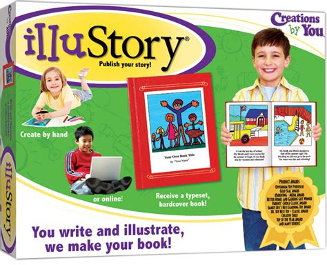 create a picture book illustory write illustrate your own book chimeric inc