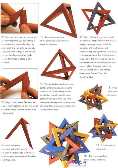tetrahedra origami 17 best images about waldorf math on grade 2