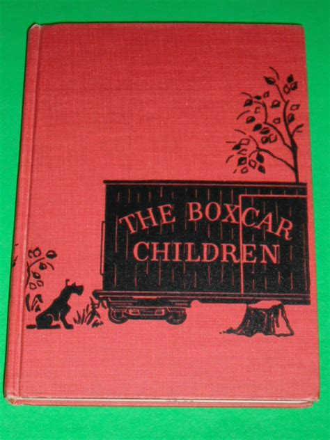 original book with pictures one the boxcar children