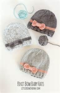 knitted hats for baby 25 best ideas about free baby knitting patterns on