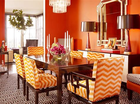 orange dining rooms orange dining room chairs tjihome