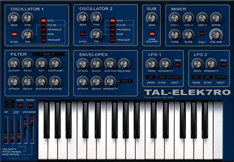 free program free software synth for mac windows tal elek7ro 2 0