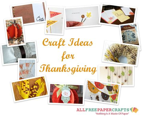 paper craft ideas for free paper thanksgiving decorations