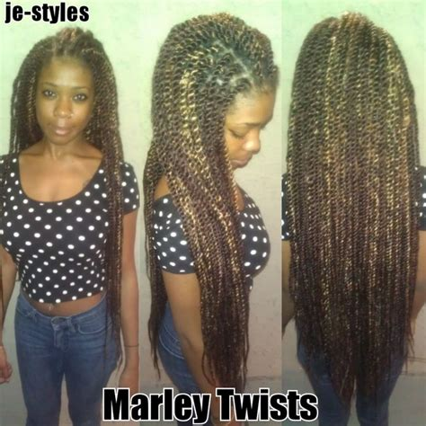 senegalese waist waist length marley twists je styles