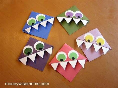 easy kid crafts and easy crafts for to give moneywise