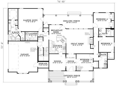 1 level house plans country southern house plan 61377 house plans bonus