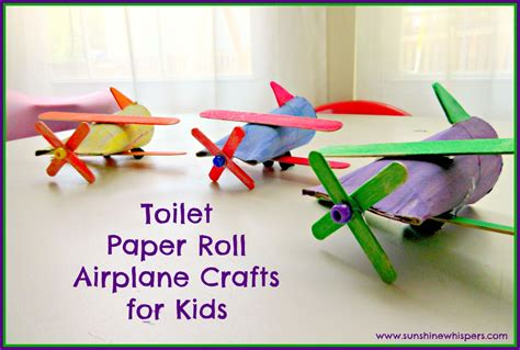 toilet paper roll crafts for toilet paper roll airplane crafts for
