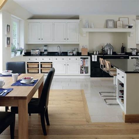 family kitchen design change of flooring use of fireplace for range kitchen