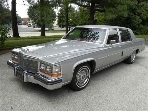 1986 Cadillac Fleetwood Brougham For Sale by Buy Used 1986 Cadillac Fleetwood Brougham In Swedesboro