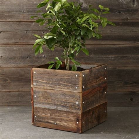 wooden planter box planter box outdoor living