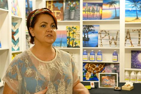 paint with a twist georgetown new business owner giving back with a twist advocate