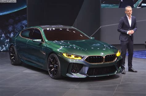 M8 Gran Coupe by Bmw Concept M8 Gran Coupe Real Photos