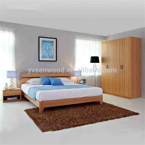 china factory top quality cheap modern design wood bedroom