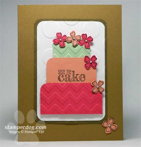 easy to make birthday cards for and easy birthday card stin up demonstrator