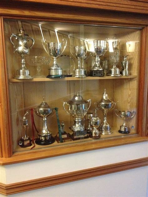 House Cabinets by Club House Trophy Cabinet Trophy