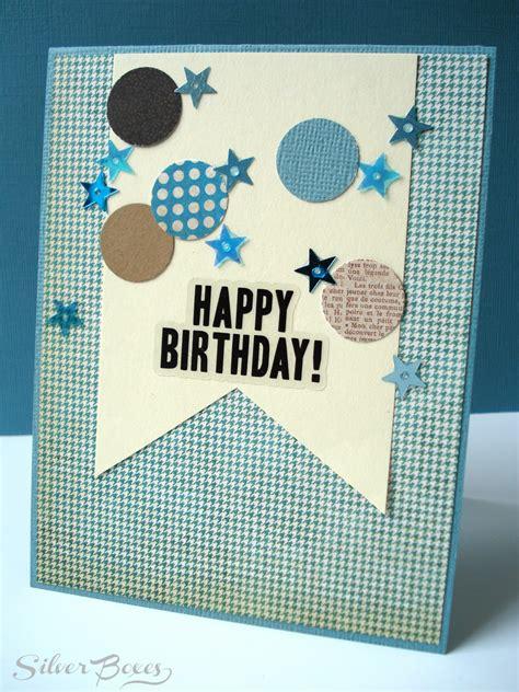 boys birthday cards to make silver boxes confetti birthday cards