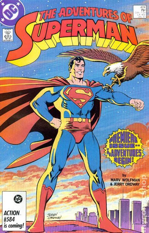 pictures of comic books adventures of superman 1987 comic books