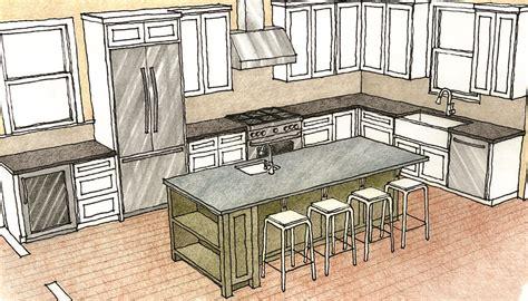 how to design a kitchen island multipurpose kitchen islands homebuilding
