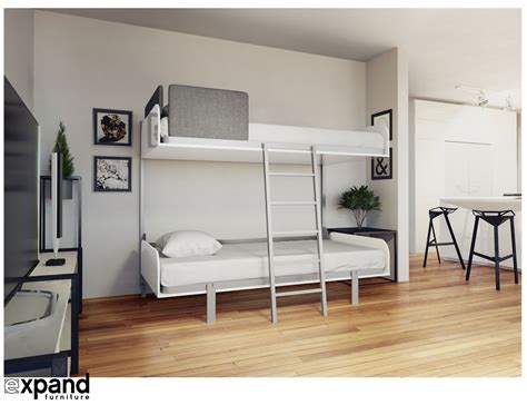 fold away bunk bed hover compact fold away wall bunk beds expand