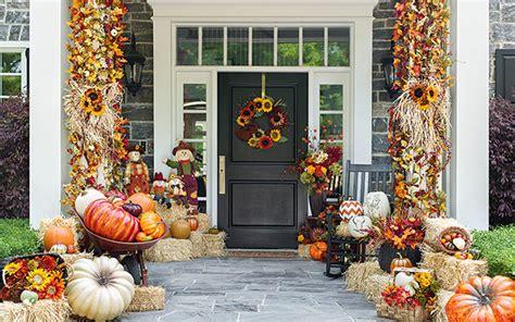 autumn front door decorating ideas 15 fall front door decoration ideas garden club
