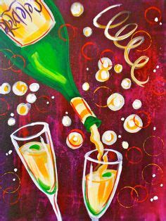 paint nite new years painting on canvas paintings canvas and
