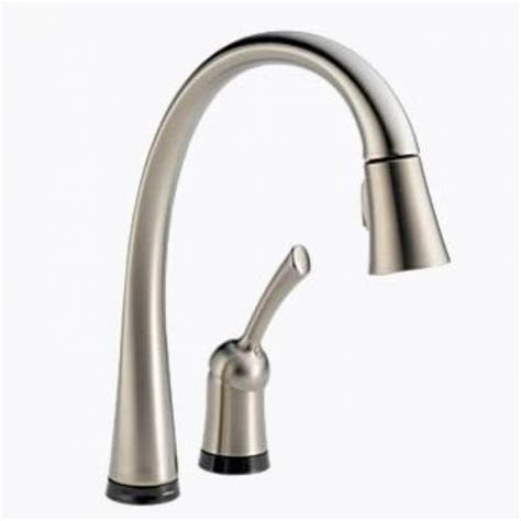 delta touch20 kitchen faucet delta pilar single handle pull kitchen faucet with touch20 stainless