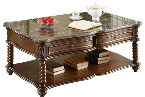 traditional coffee table sets homelegance lockwood 3 rectangular coffee table set